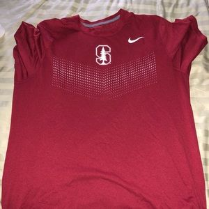 Stanford Under Armour T-Shirt Size Large